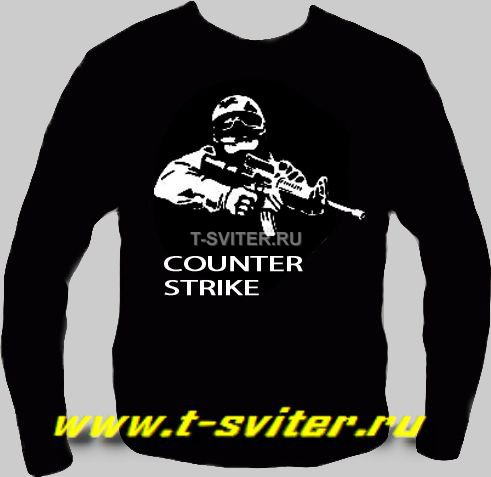 Тату-свитер  - COUNTER STRIKE (КОНТРА)